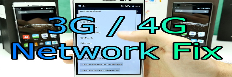 how to fix 3G 4G LTE mobile network data