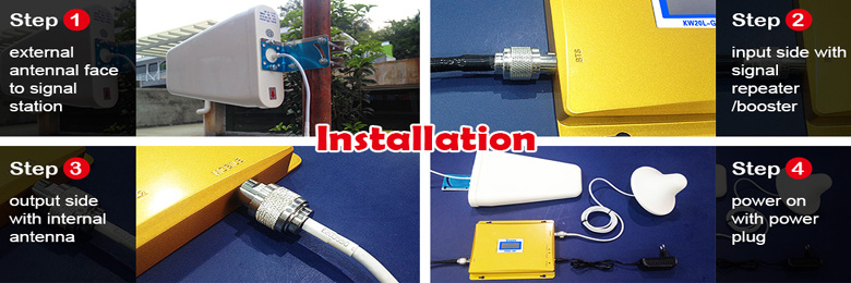 installation of mobile signal booster